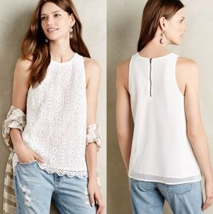 Anthropologie Sunday in Brooklyn Vivi Lace Tank